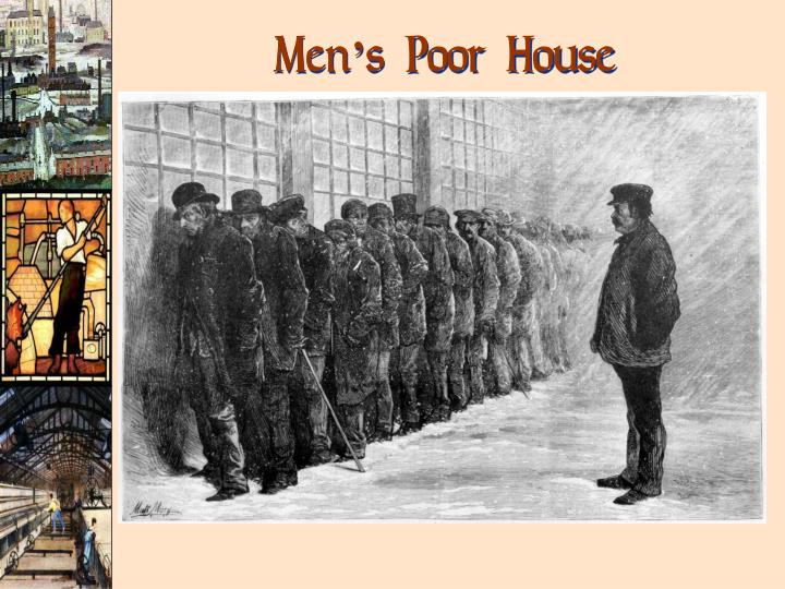Men's Poor House