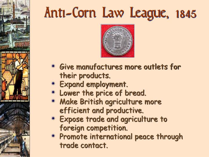 Anti-Corn Law League,
