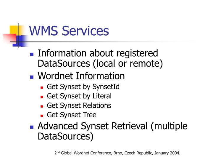 WMS Services