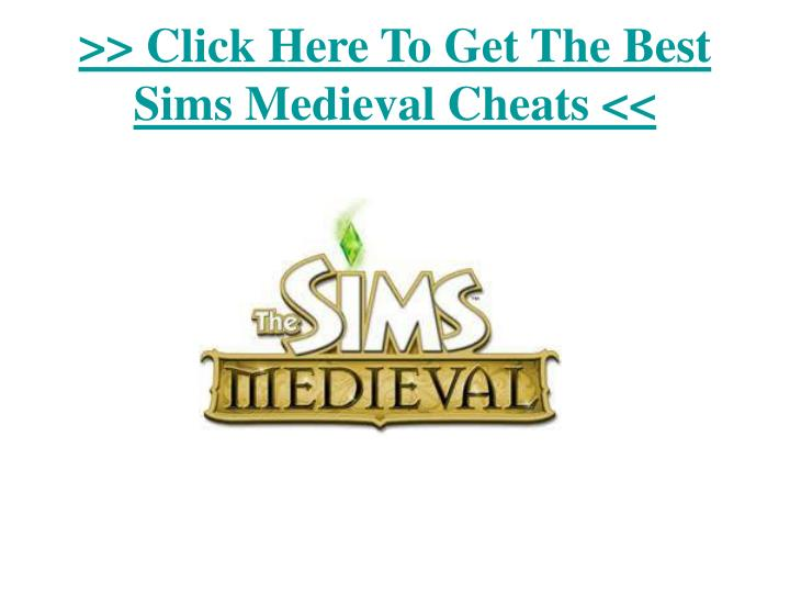 Click here to get the best sims medieval cheats