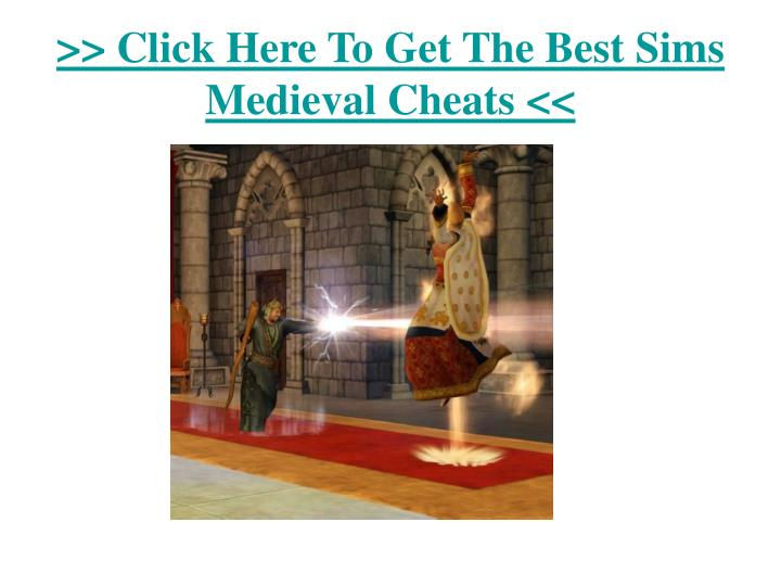 Click here to get the best sims medieval cheats3