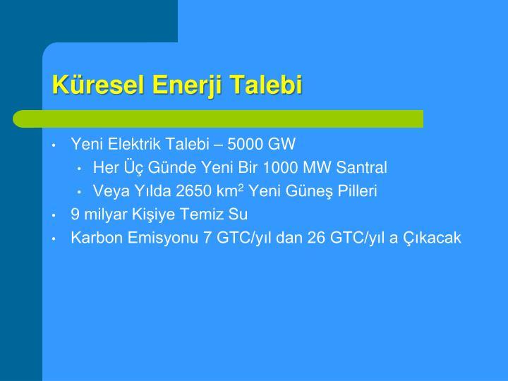 Küresel Enerji Talebi