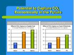 potential to capture co 2 economically in the future