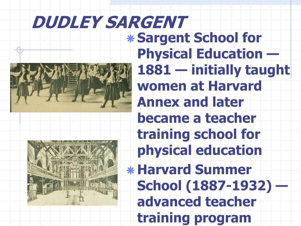 DUDLEY SARGENT