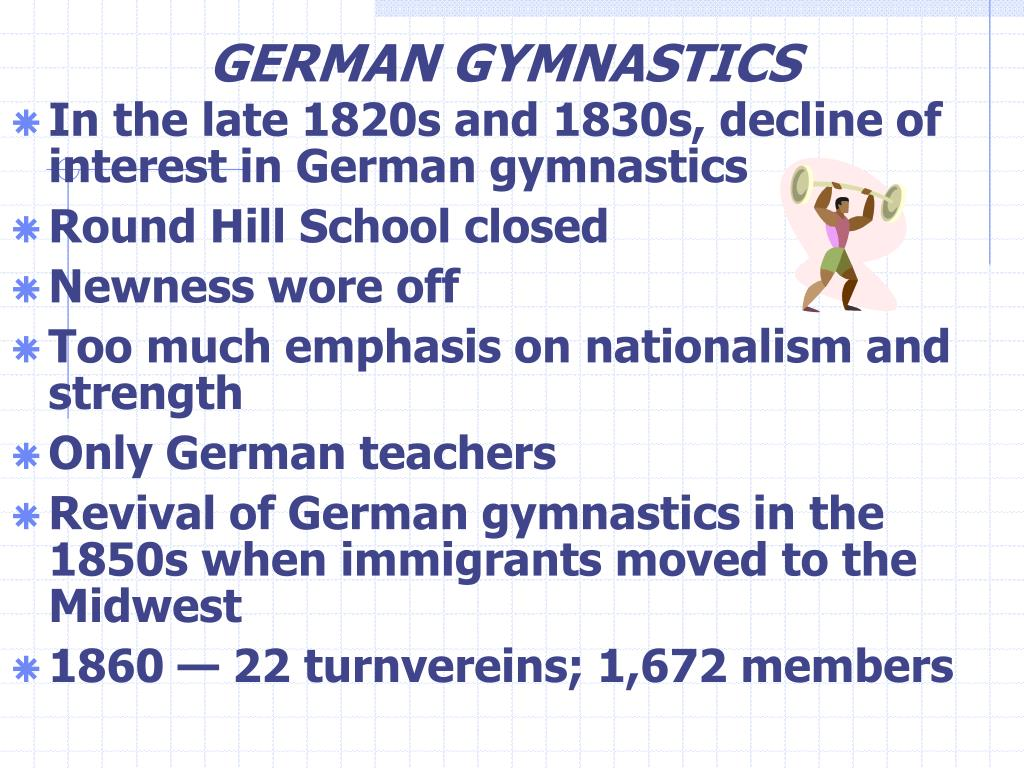 GERMAN GYMNASTICS