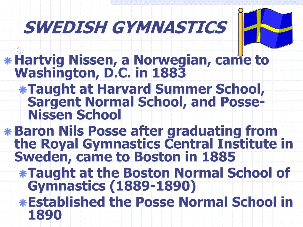 SWEDISH GYMNASTICS