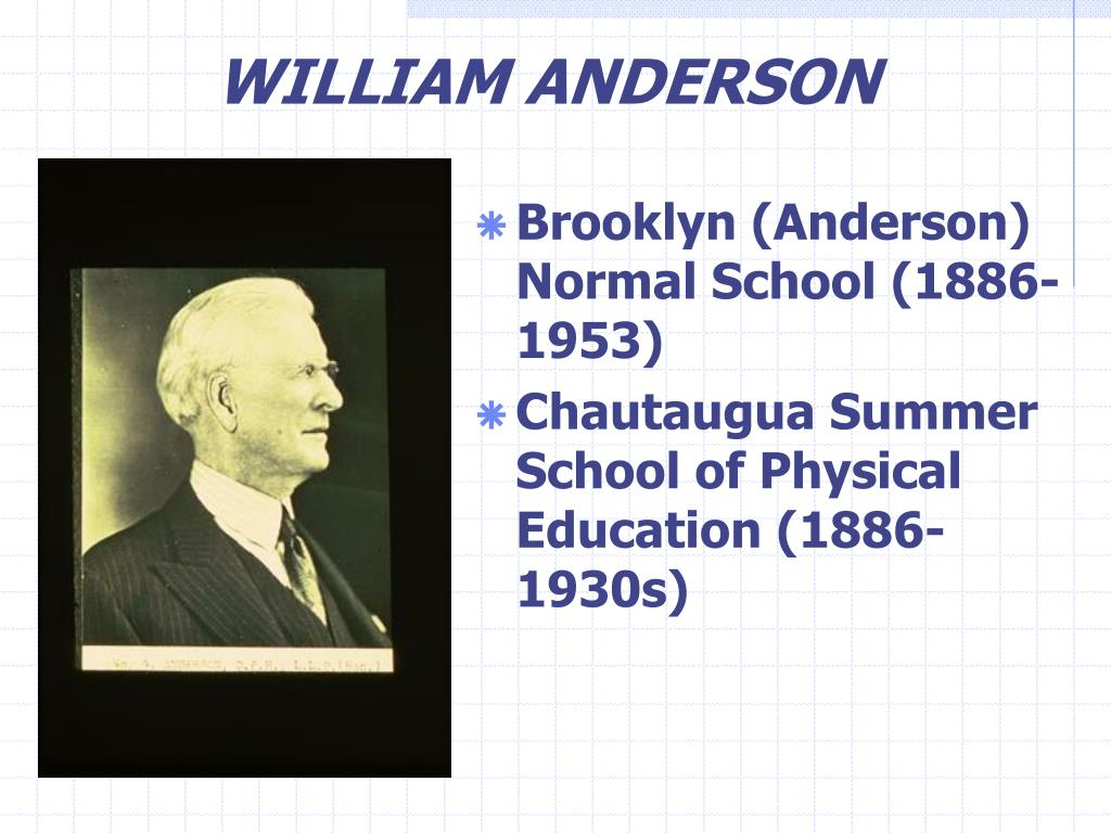 WILLIAM ANDERSON