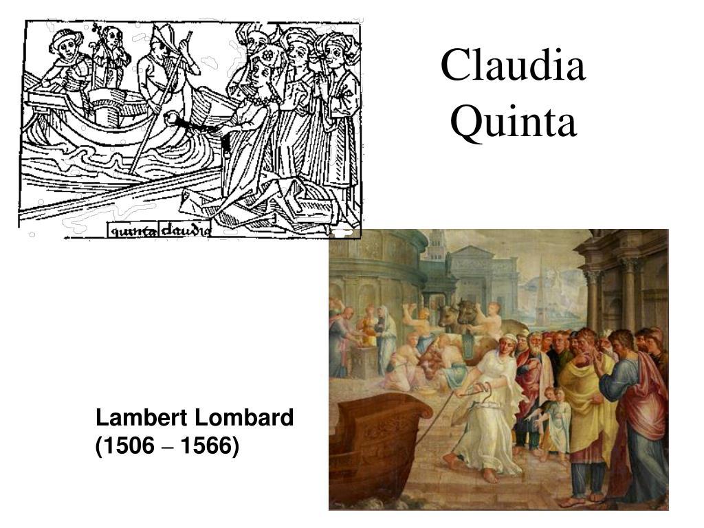 Claudia Quinta