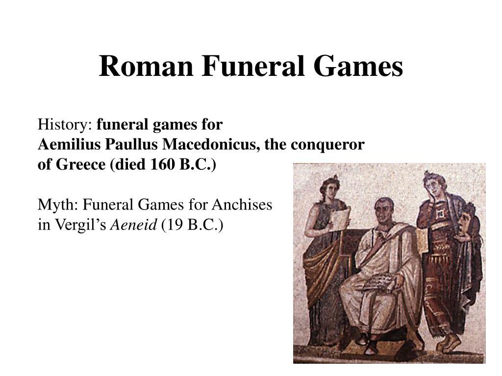 Roman Funeral Games