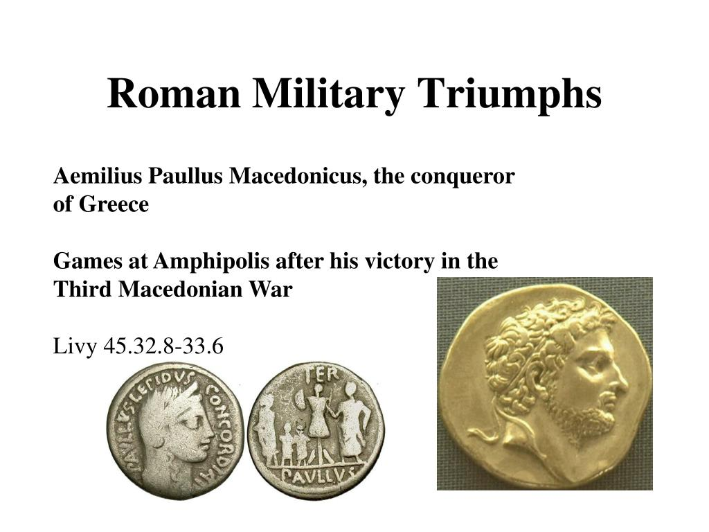 Roman Military Triumphs