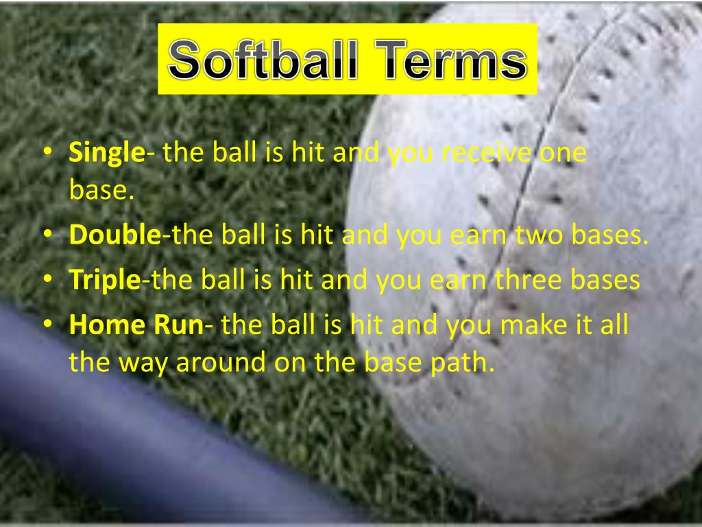 Softball Terms