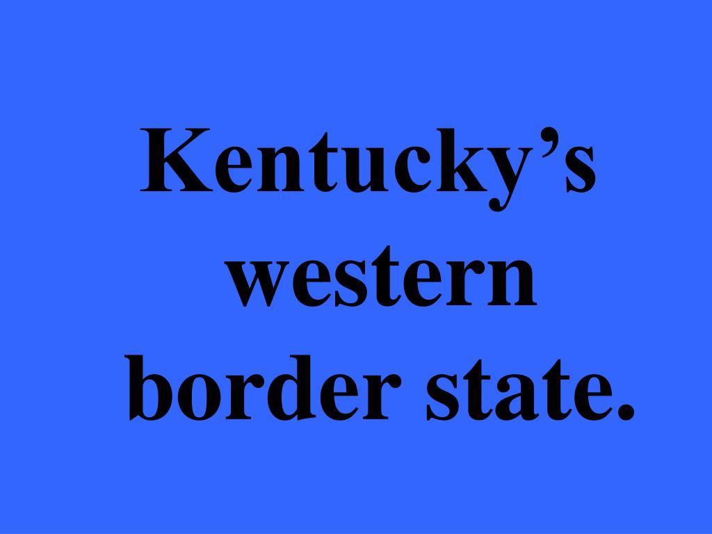Kentucky's
