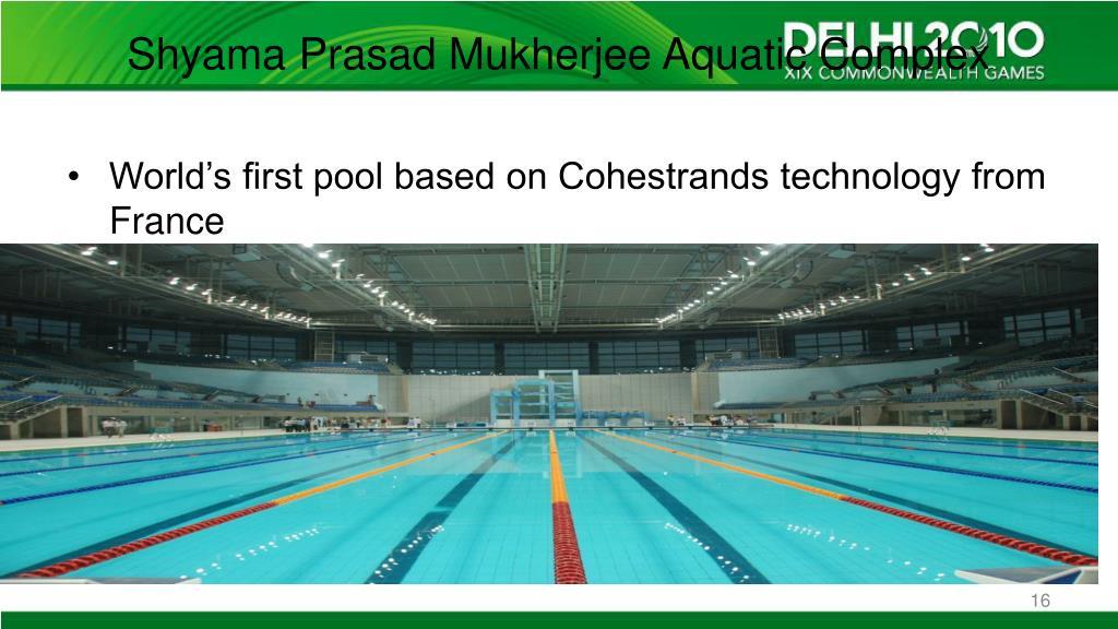 Shyama Prasad Mukherjee Aquatic Complex