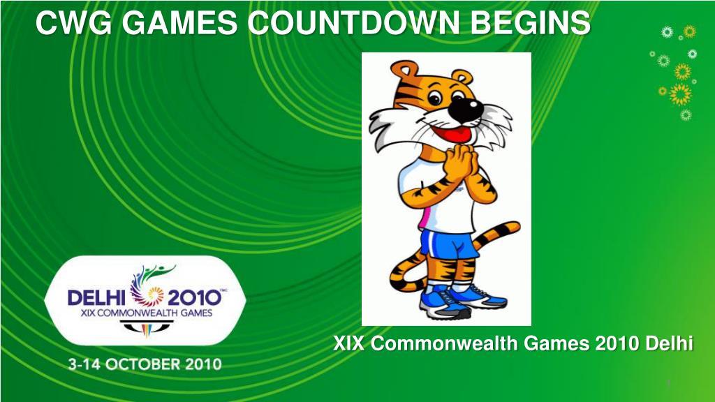CWG GAMES COUNTDOWN BEGINS