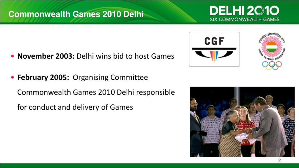 Commonwealth Games 2010 Delhi