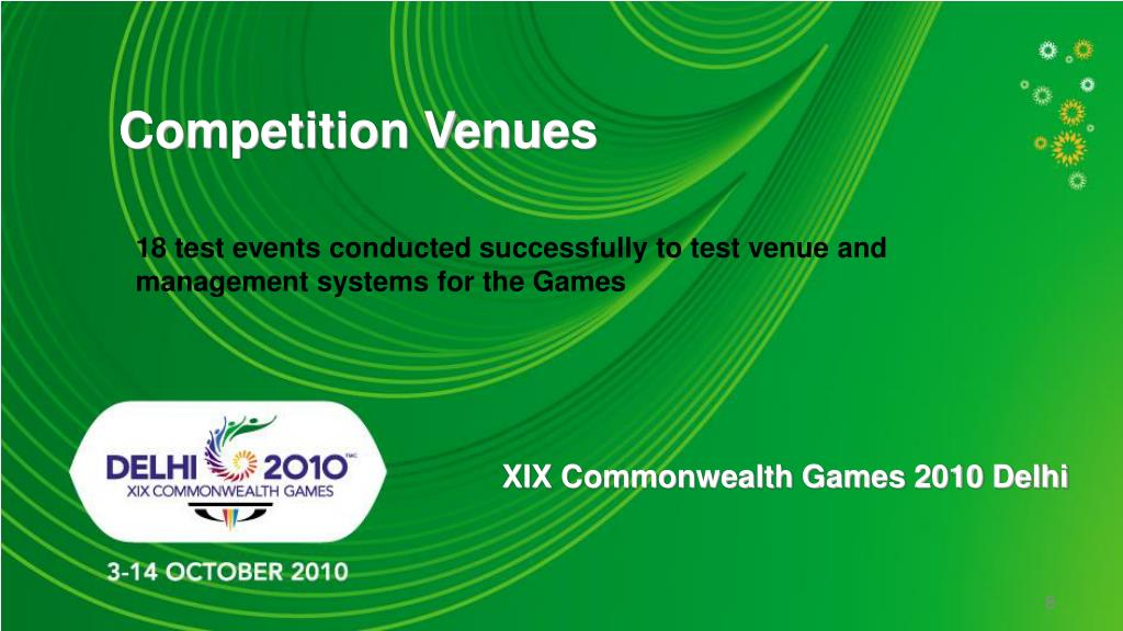 Competition Venues