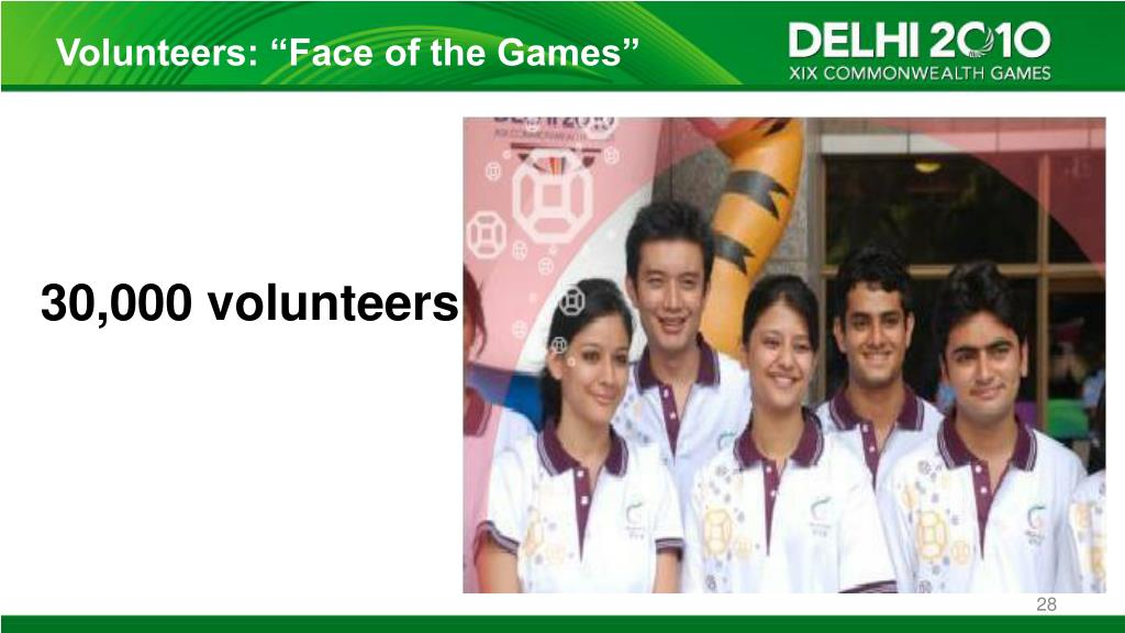"Volunteers: ""Face of the Games"""