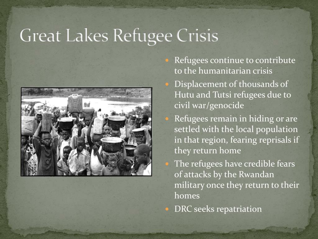 Great Lakes Refugee Crisis