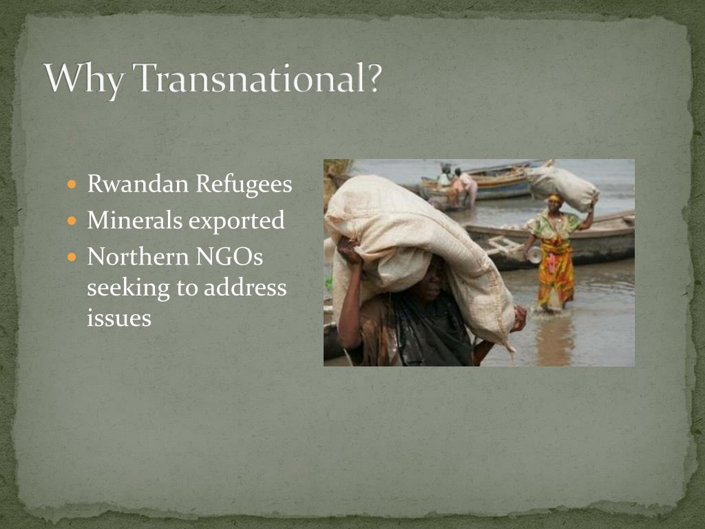 Why Transnational?