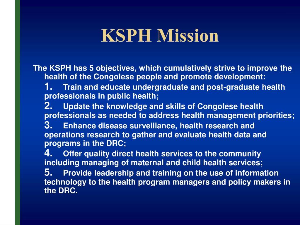 KSPH Mission