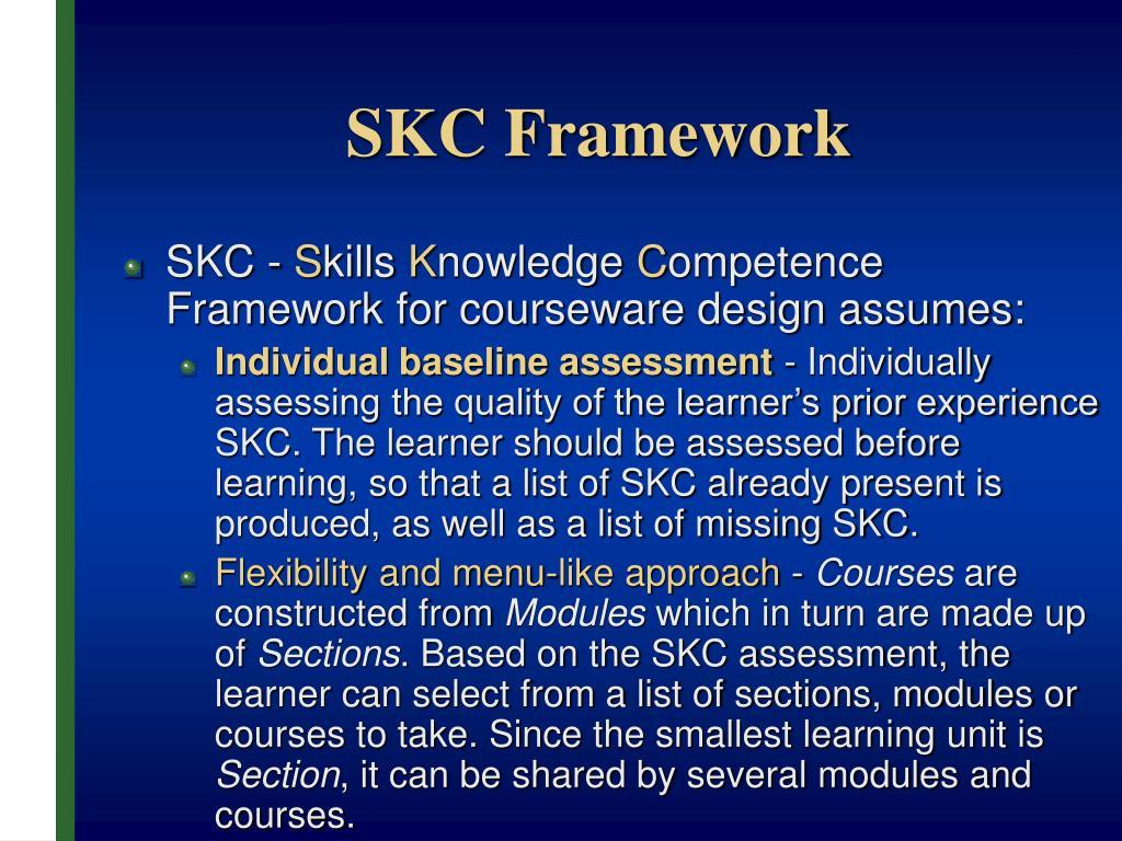 SKC Framework