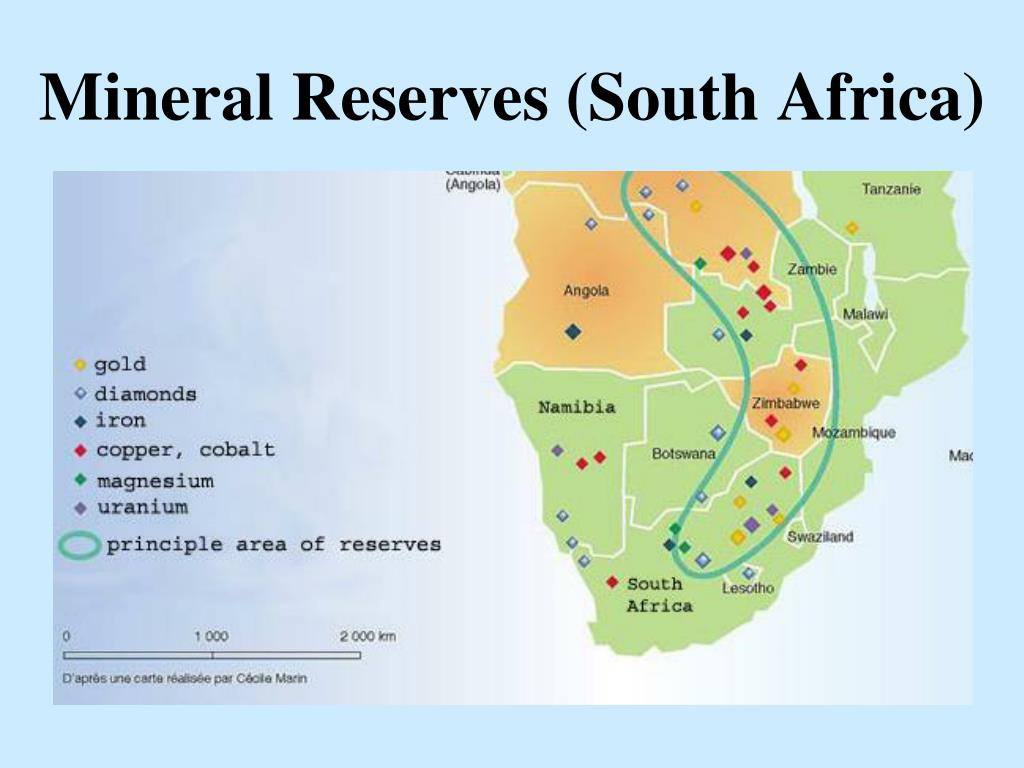 Mineral Reserves (South Africa)