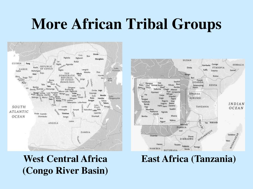 More African Tribal Groups