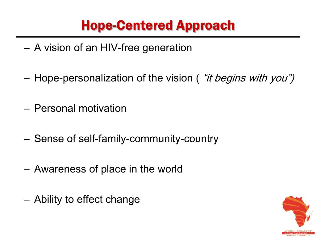 Hope-Centered Approach