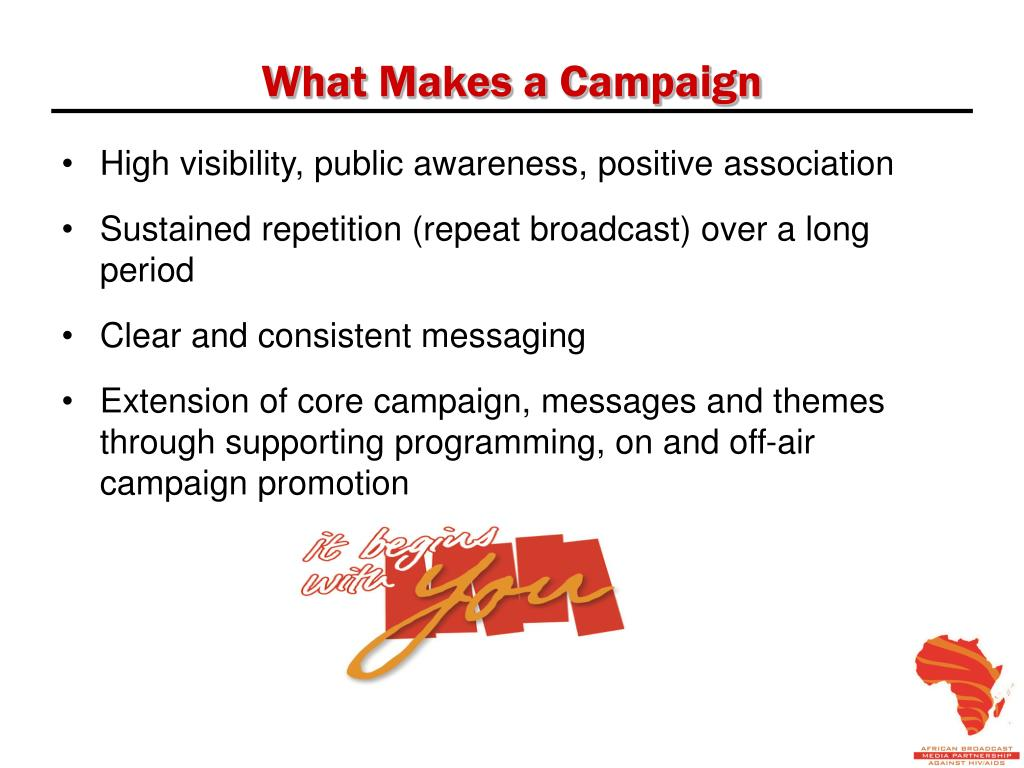 What Makes a Campaign