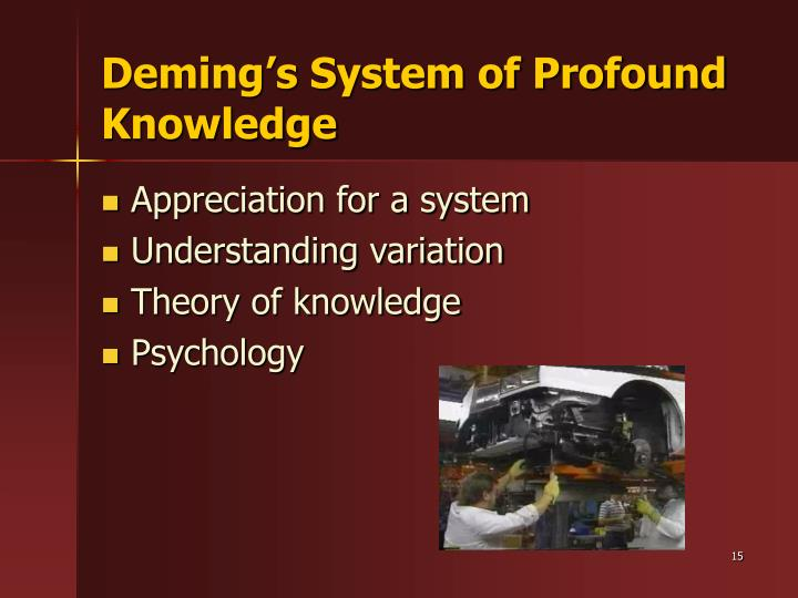 demings philosophy Application of the deming philosophy to higher education aaron w hughey a brief overview of the historical significance of the work of w edwards.