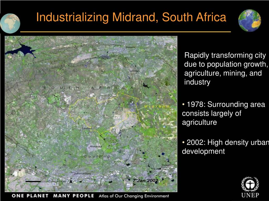 Industrializing Midrand, South Africa