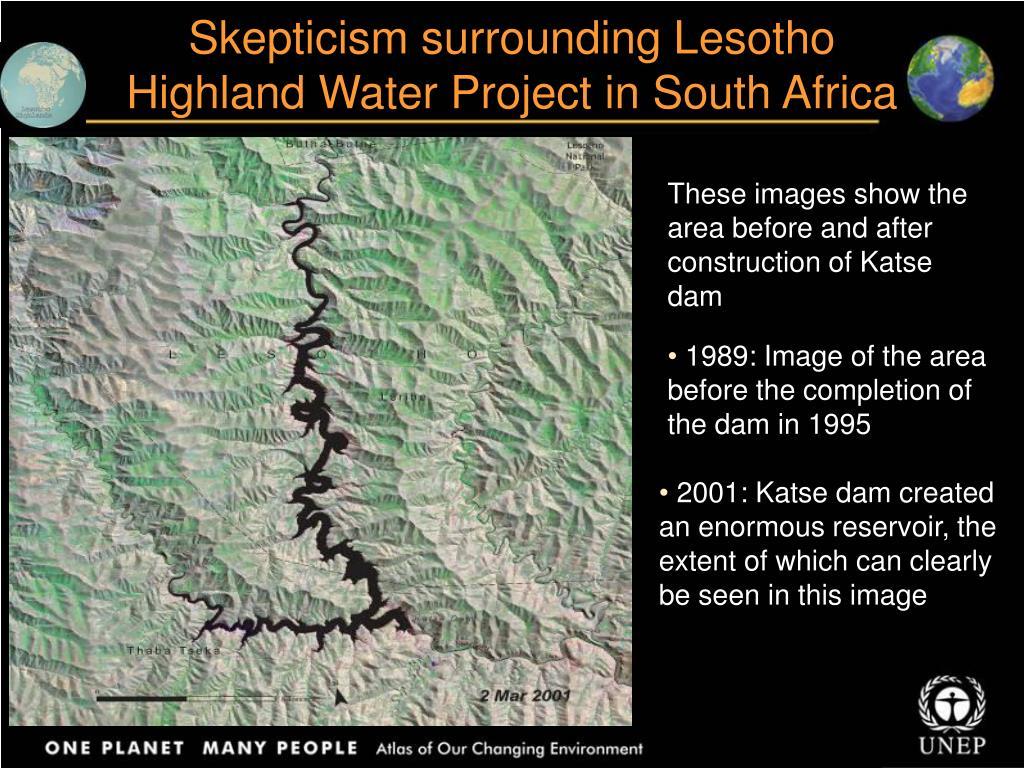 Skepticism surrounding Lesotho