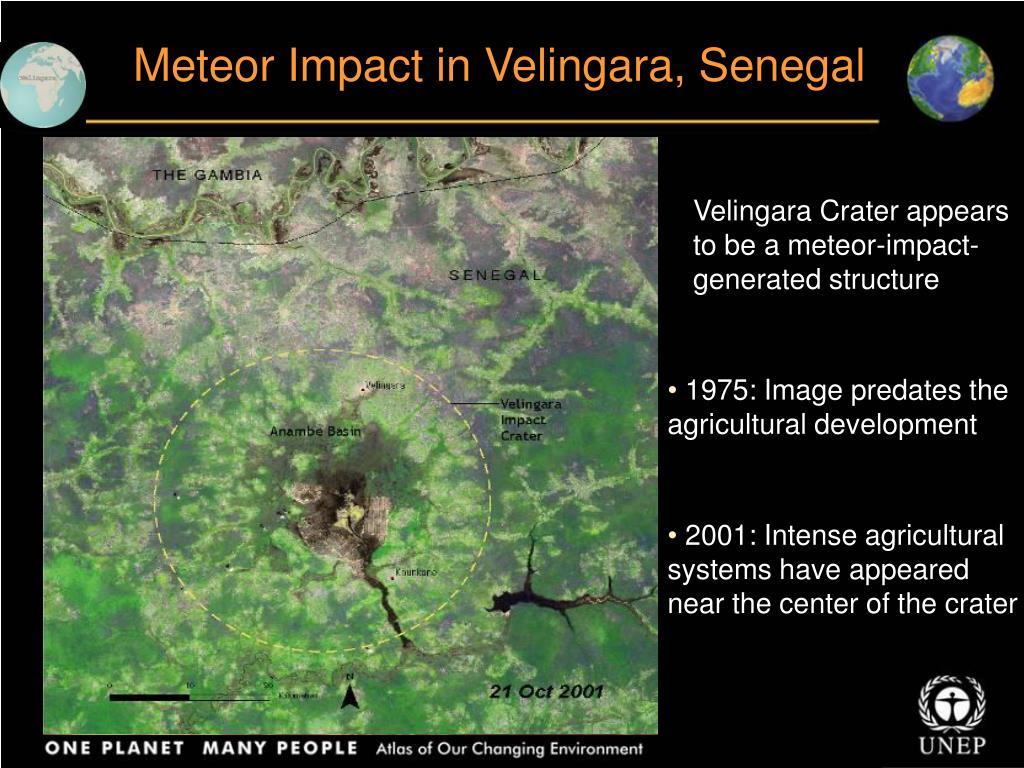 Meteor Impact in Velingara, Senegal