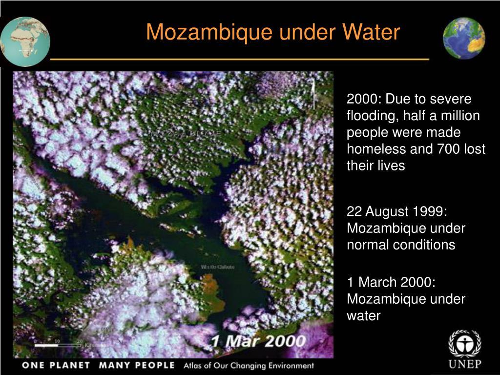 Mozambique under Water