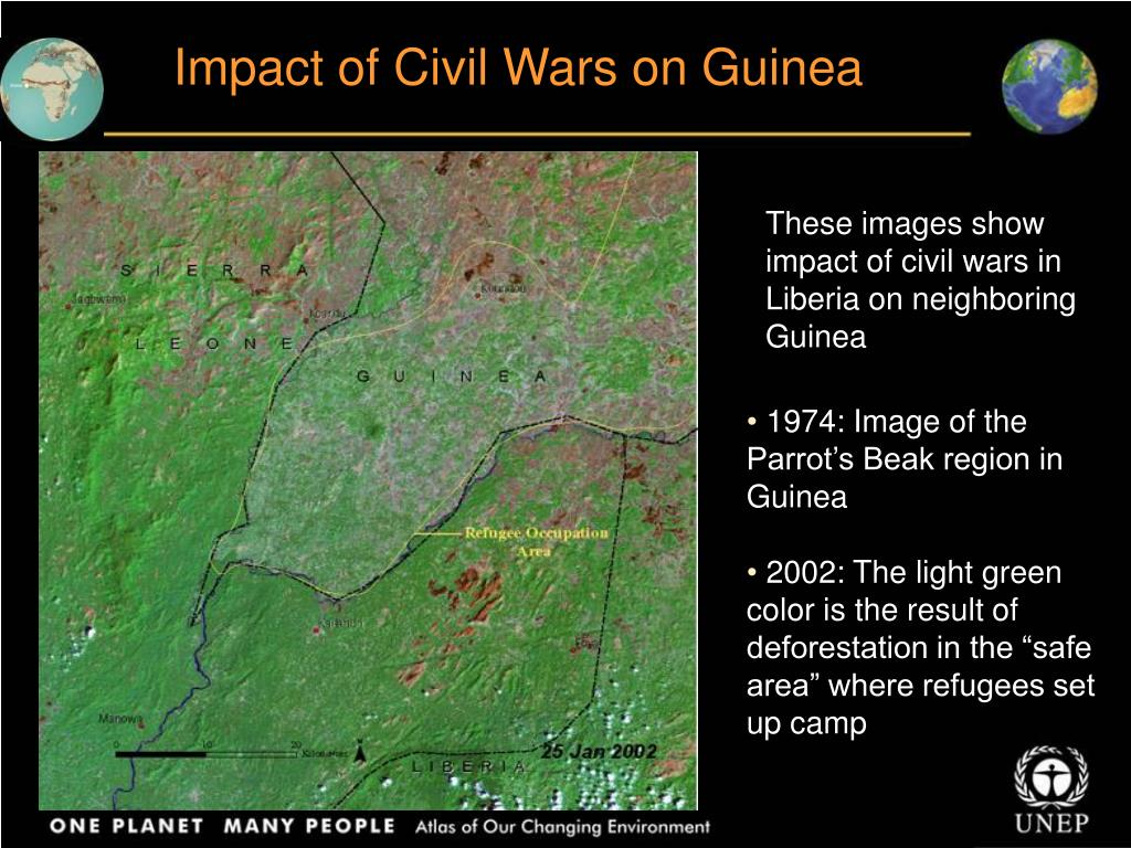 Impact of Civil Wars on Guinea