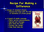 recipe for making a difference2