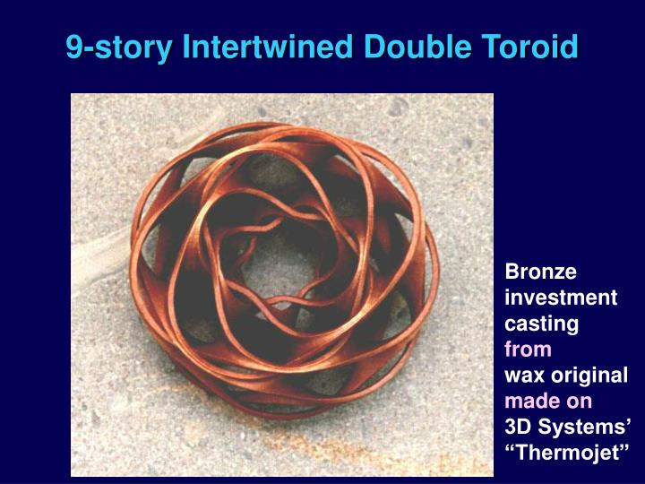 9-story Intertwined Double Toroid