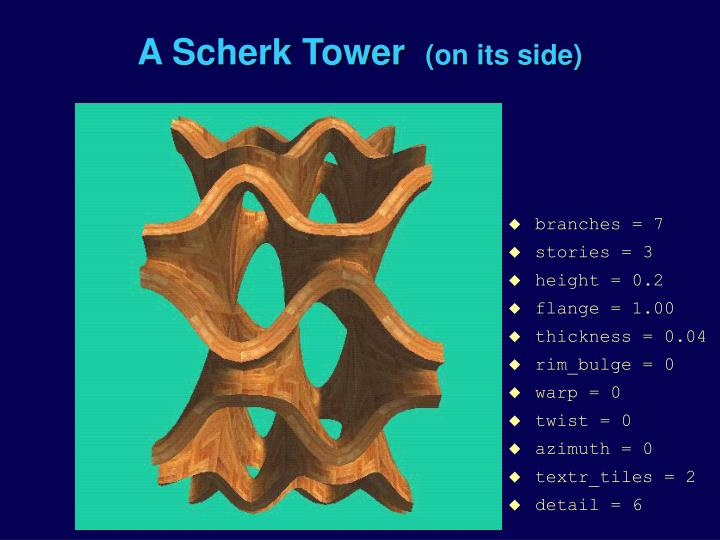 A Scherk Tower