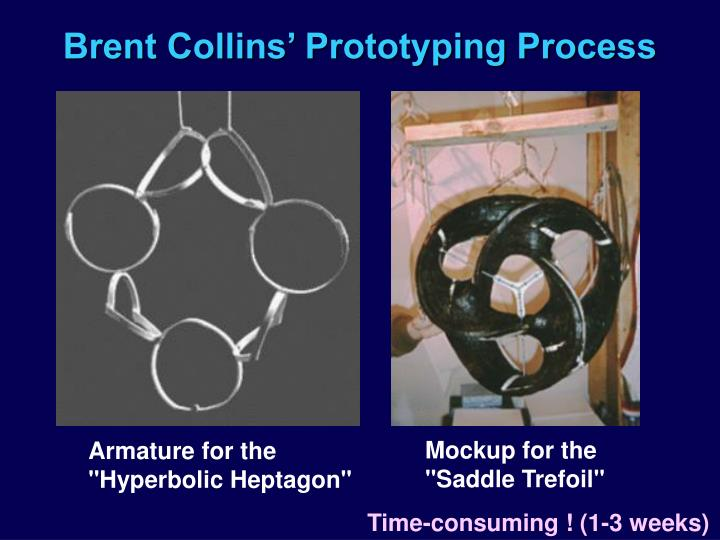 Brent Collins' Prototyping Process