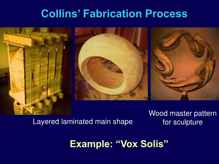 Collins' Fabrication Process