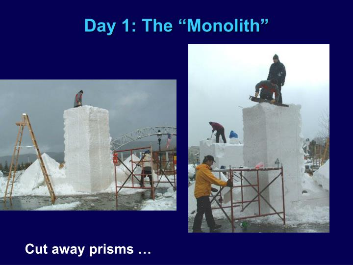 "Day 1: The ""Monolith"""