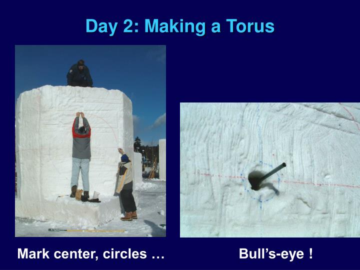 Day 2: Making a Torus