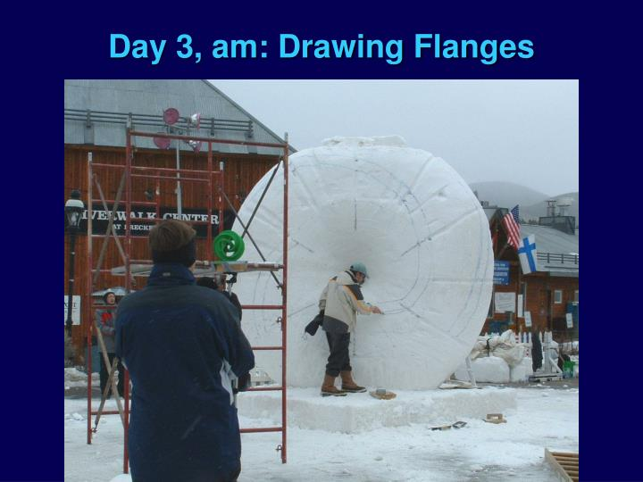 Day 3, am: Drawing Flanges