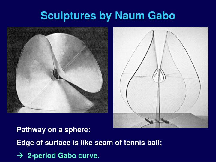 Sculptures by Naum Gabo