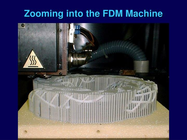 Zooming into the FDM Machine