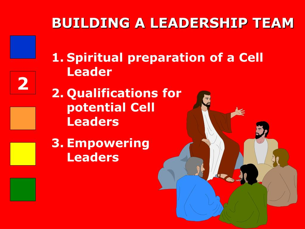 BUILDING A LEADERSHIP TEAM