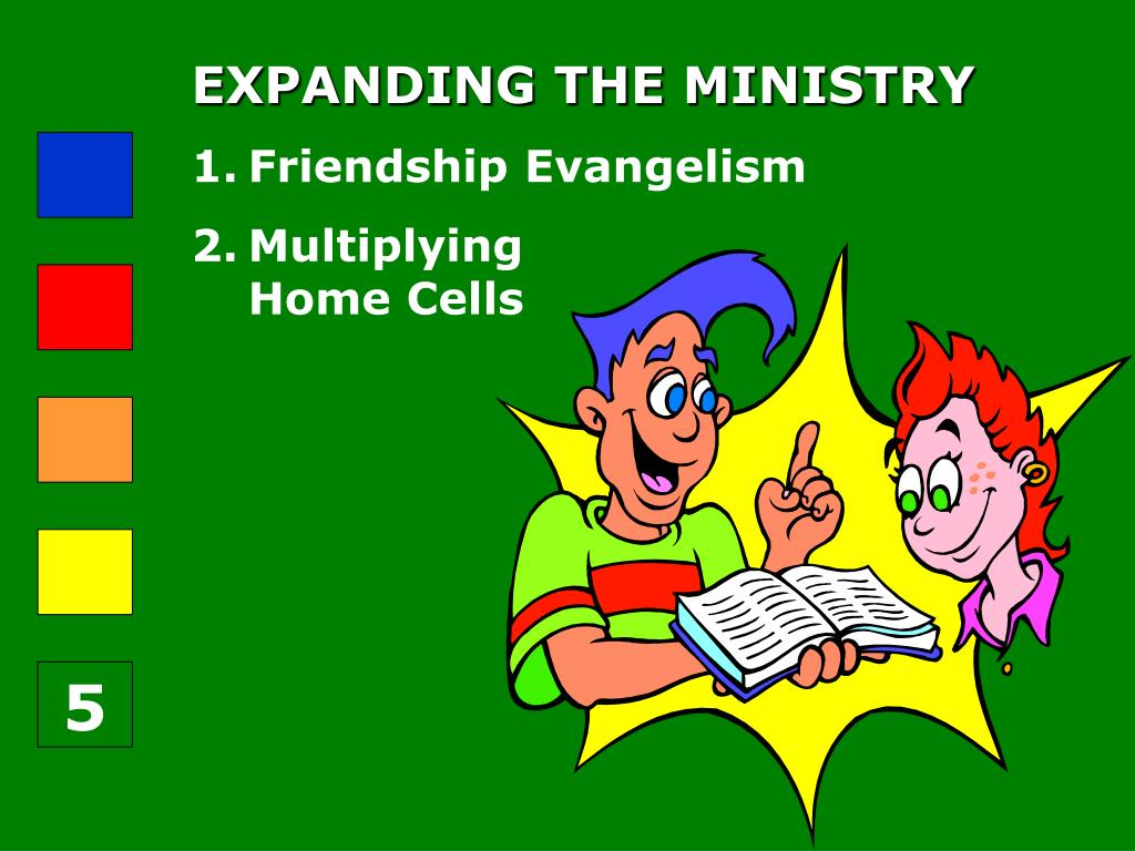 EXPANDING THE MINISTRY