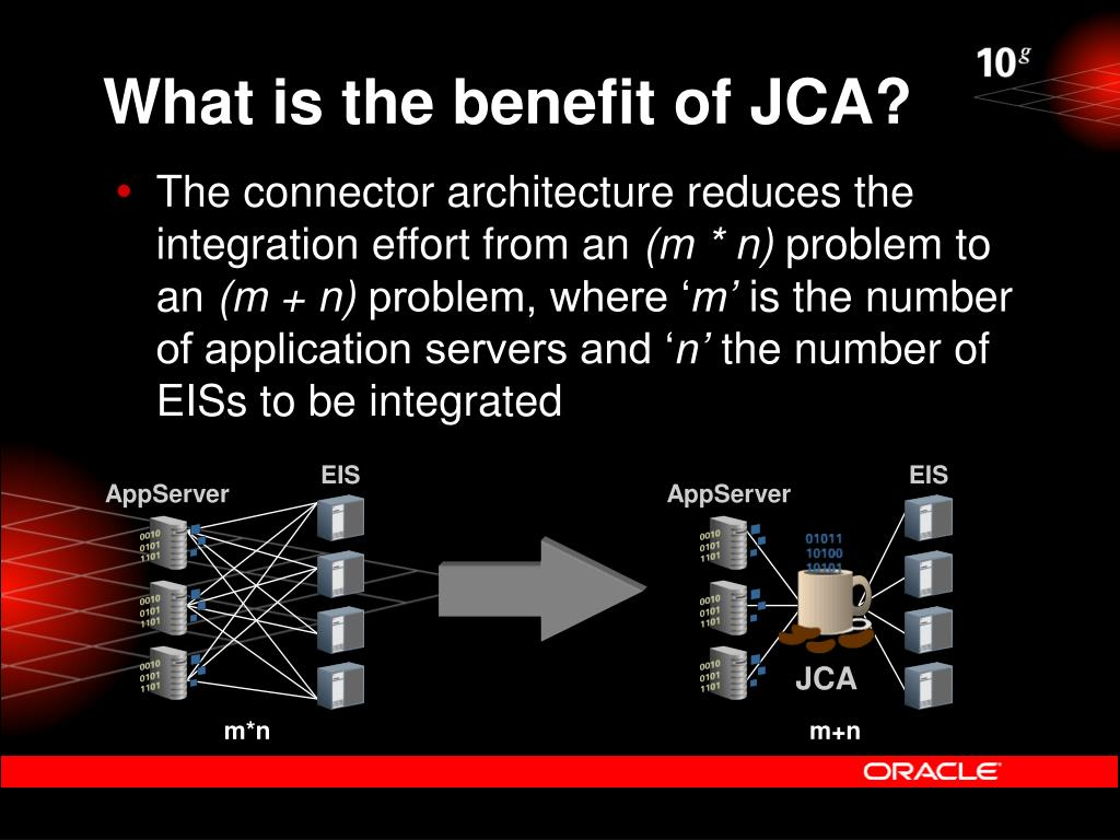 What is the benefit of JCA?
