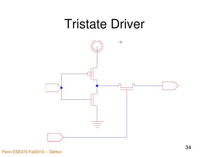 Tristate Driver