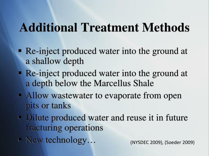 Additional Treatment Methods